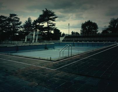 Stade nautique - avant destruction