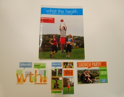 What the Health magazine party invitations