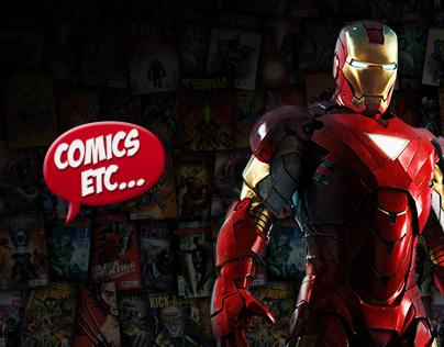 Comics Etc - Website & Online Store