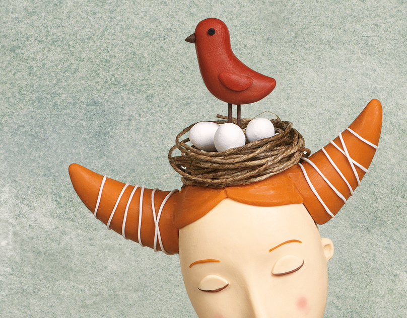Birds on the head