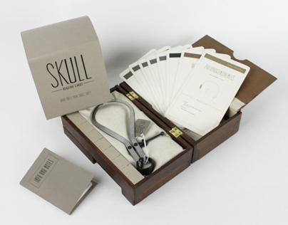 Skull Reading Cards