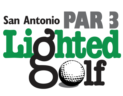San Antonio Par 3 Lighted Golf: Logo & Branding