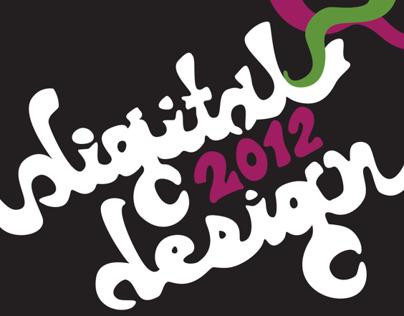 Digital Design Student Show 2012: Poster