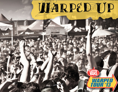 Warped Tour Brochure