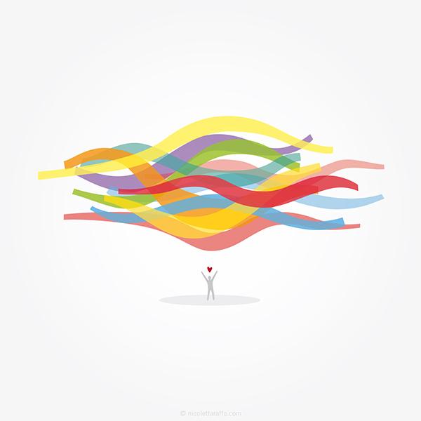 Love colors! — Illustration