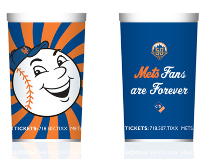 New York Mets Coffee Cups