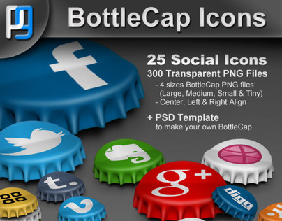 BottleCap Icons