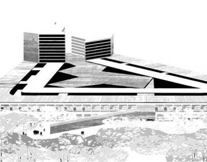 Urban Planning New Headquarters. By UP Arquitectos.2009