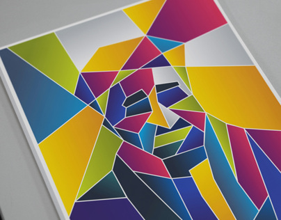 CUBIC PORTRAIT | CANVAS