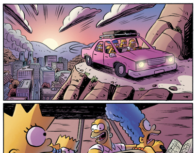 The Simpsons Treehouse of Horror #18 COLORIST