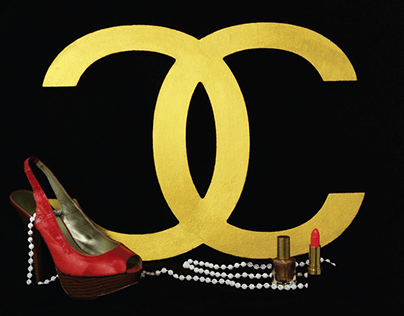 Coco Chanel-constructed image