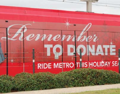 The Salvation Army Train Wrap