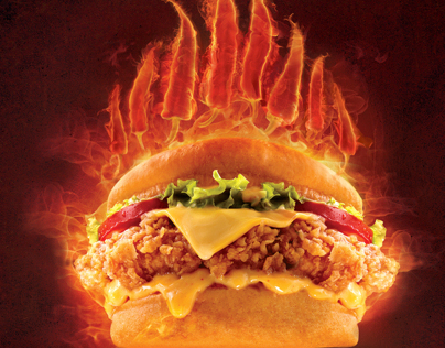 KFC SPICY ZINGER MENU TV COMMERCIALS