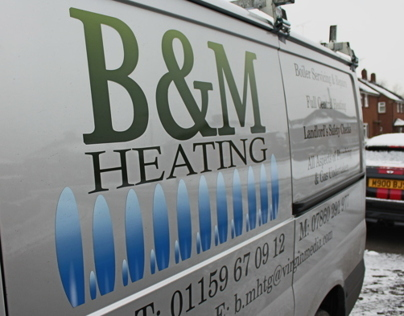 B&M Heating Re-Branding