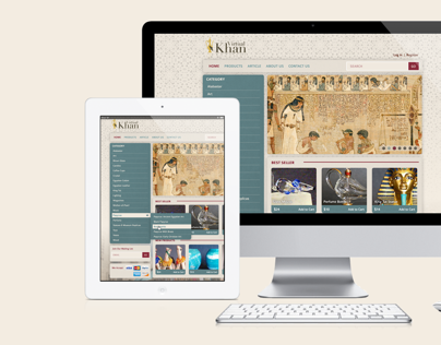Virtual Khan - The Online Bazaar