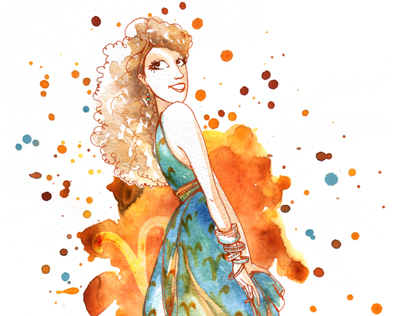 Horoscope Illustrations for Cosmopolitan Magazine