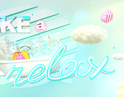 TAKE A BATH AND RELAX // MELOCOTTONA IDENT