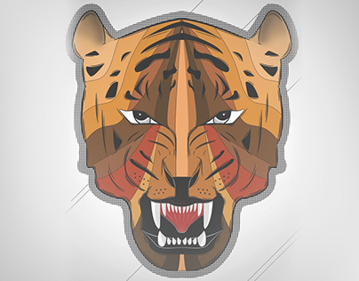 Tiger - Illustration