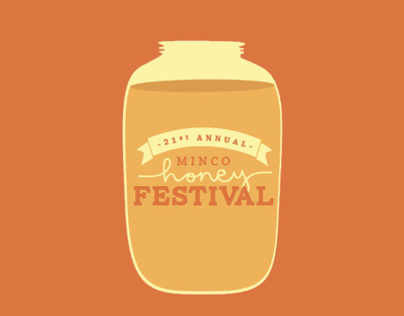 Minco Honey Festival Brochure Design