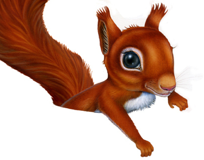 Squirrel Character for Serla