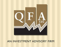 QFA, LLC - Rebranding (logo, collateral, website)