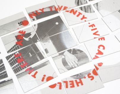 Twenty-five business cards