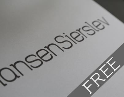 HansenSierslev - typeface