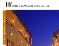 HY Architects user interface