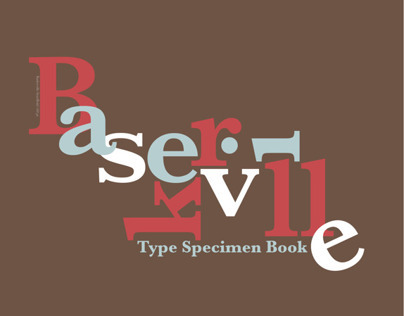Baskerville Type Specimen Book