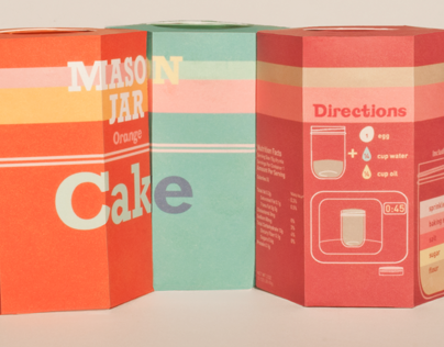 Jar Cakes Packaging Design