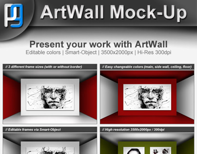 ArtWall Mock-Up