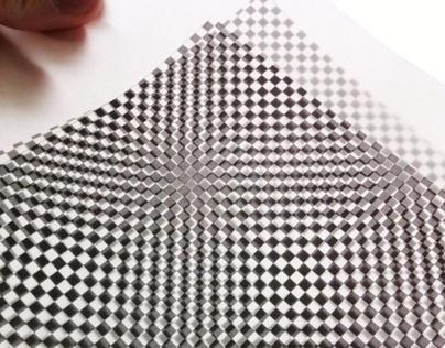 Pin Checks Graphic Experiment