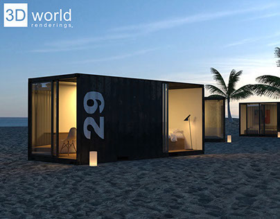 Container Beach Project