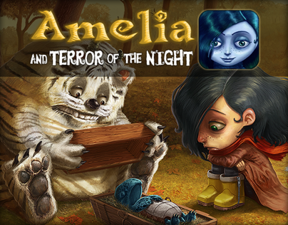Amelia and Teror of the Night - iOS interactive book