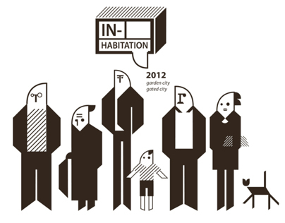 Graphic Design for exhibition IN-Habitation 2012
