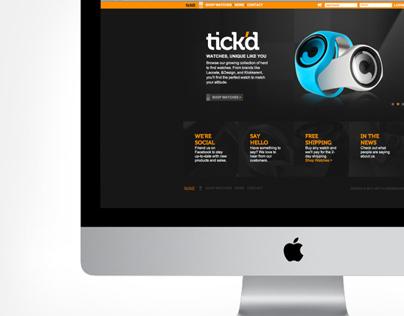 Tick'd Webstore