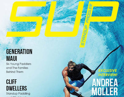 SUP Magazine Redesign