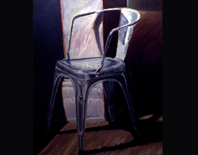 Chair Series- oil on canvas - 1986-96