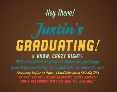 Graduation Announcements (2012)
