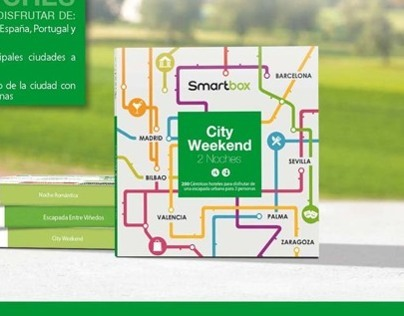 Smartbox Gift Boxes - City Weekend