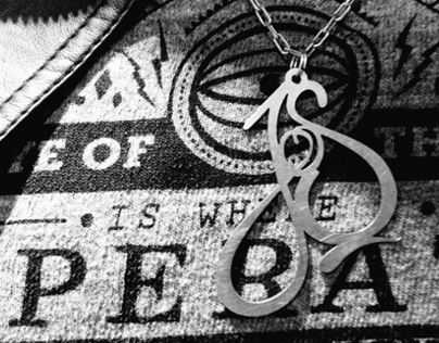 Typographic Jewelry