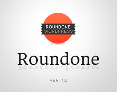 Roundone Wordpress Theme