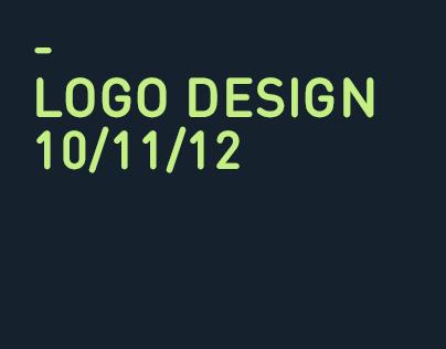 LOGO DESIGN - 10/11/12