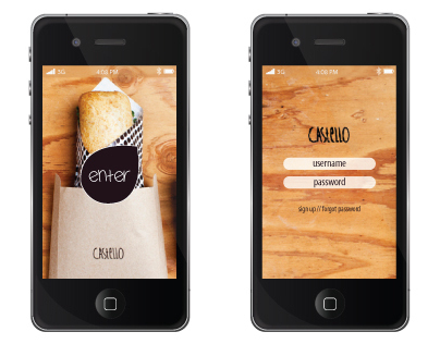 Castello Restaurant Phone App