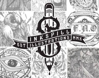 Inkspill Illustrations - Promo Video
