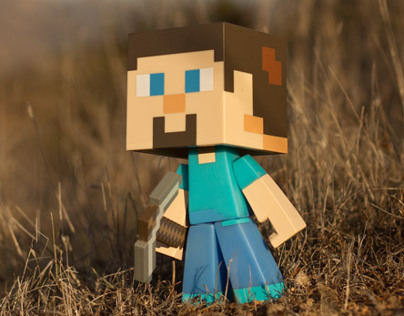 Steve, the Hero of Minecraft