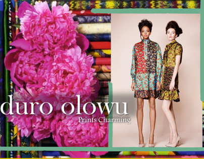 Promoting Duro Olowu