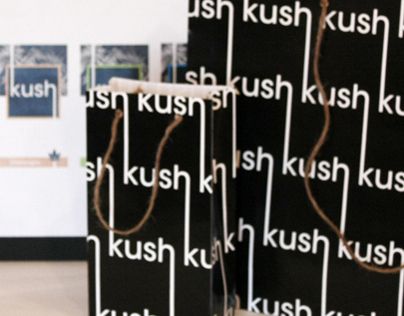 Kush - Marijuana package design and branding