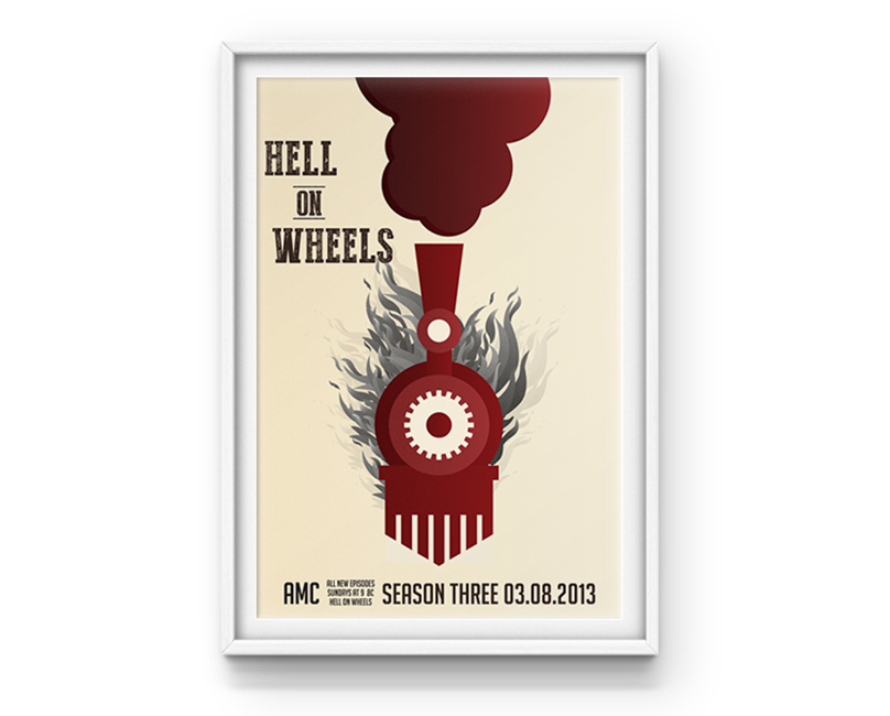 Hell on Wheels - Poster design