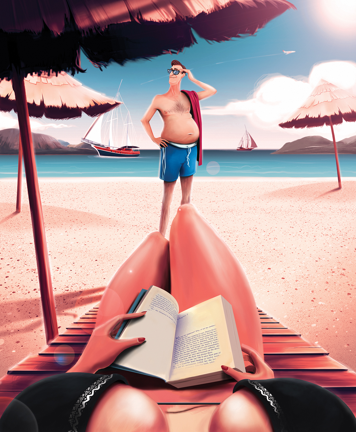 GQ Magazine Turkey - Illustration
